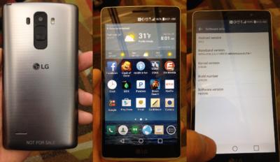Una filtración nos enseña cómo podría lucir el LG G4 Note con su acabado metálico