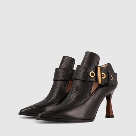 Salon Mobi California Negro Zapatos Mujer Online