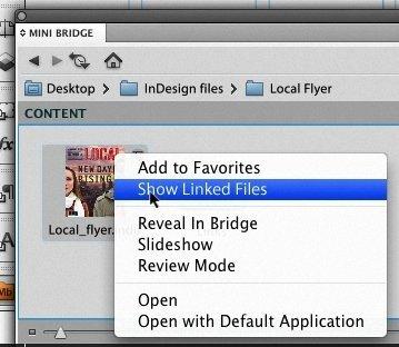 minibridge adobe indesign cs5