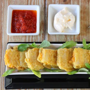 Pencas de acelgas rellenas de jamón y queso, la forma más sencilla de disfrutar con esta verdura