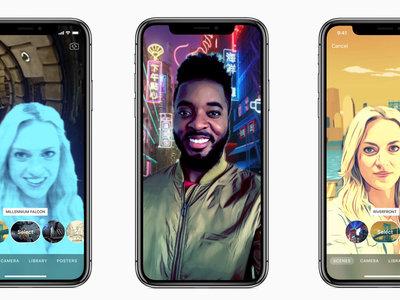 Clips 2.0 aterriza en la App Store con escenas de Star Wars y otras funciones exclusivas para iPhone X