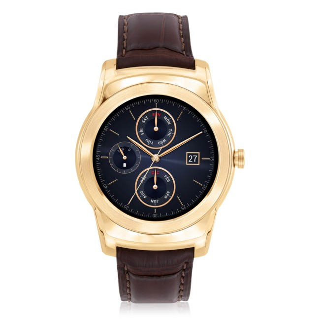 Lg Watch Urbane Luxe Front