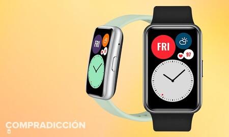 En caída libre: el smartwatch Huawei Watch Fit sigue bajando de precio y marca un nuevo mínimo de 63 euros en Amazon