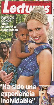 Patricia Conde en la revista Lecturas