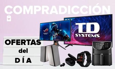 Ofertas del día en Amazon: Smart TVs TD Systems, monitores gaming ASUS, smartwatches Amazfit, auriculares Xiaomi o freidoras Cosori y Aigostar a precios bajos