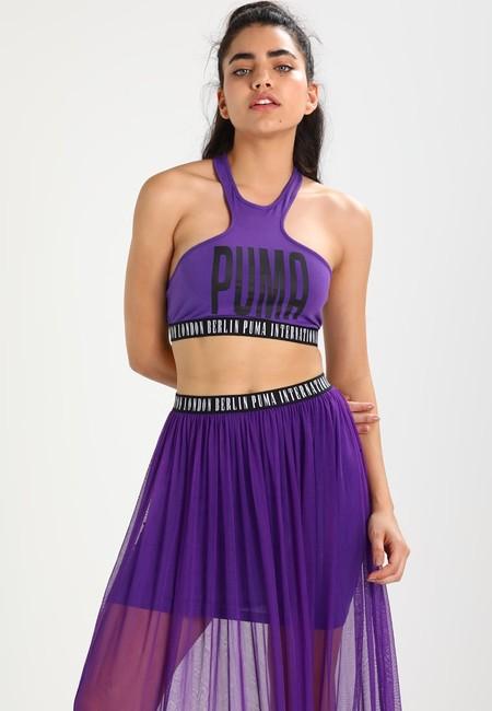 60% de descuento en el top deportivo Puma B&B en color morado: se queda en sólo 11,95 euros con envío gratis