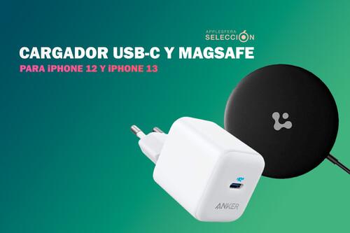 Nueve cargadores USB-C y MagSafe para recargar la batería de tu nuevo iPhone 13