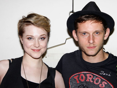 Pero... ¡Que se nos habrán casado Evan Rachel Wood y Jamie Bell!
