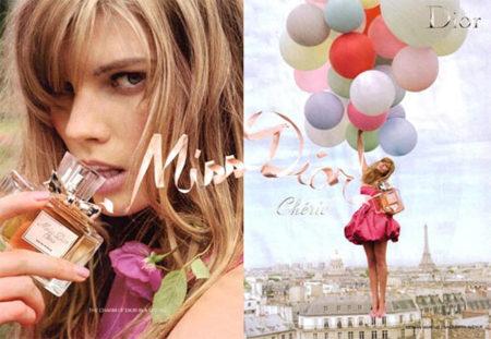 anuncio miss Dior Cherie