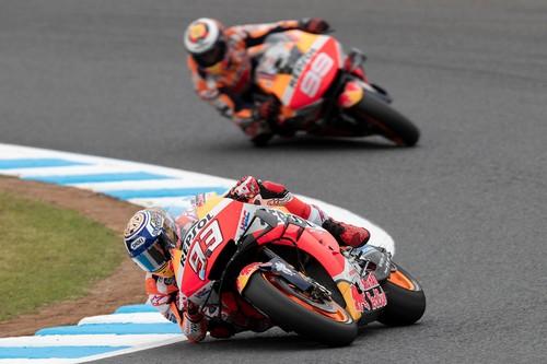 Marc Márquez logra su primera pole de MotoGP en Motegi negándosela a Franco Morbidelli