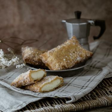 Teresitas asturianas de crema: postre de sartén para disfrutar de un carnaval muy dulce
