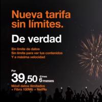 Orange mejora sus tarifas con datos ilimitados eliminando la restricción al tethering