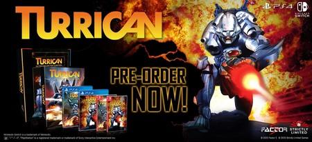 La saga Turrican volverá a la vida por todo lo alto con un magnífico recopilatorio por su 30 aniversario