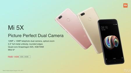Xiaomi Mi 5x India
