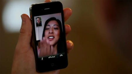 Facetime Iphone 4 Girl Blows Kiss