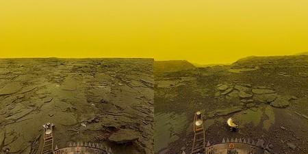 Fotografia De La Superficie De Venus Programa Venera