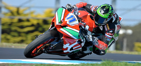 Sam Lowes en Phillip Island