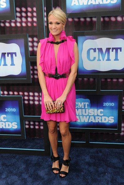 Todas las celebrities en los CMT Music Awards: Carrie Underwood