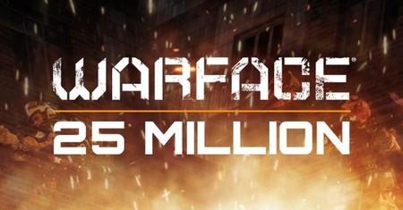 Warface supera la barrera de 25 millones de usuarios registrados