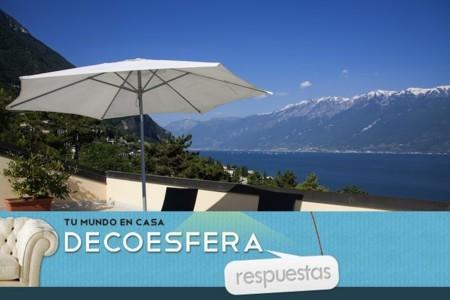 En la terraza, ¿mesa y sillas o tumbonas para tomar el sol? La pregunta de la semana