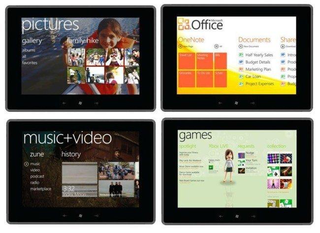 tablet con windows phone