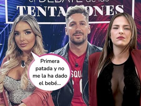 Estas son las imágenes que más han molestado a Patri Pérez Iglesias: Marta Peñate y Lester, acurrucados y abrazados en la misma cama