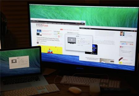 Apple prepara soporte para monitores 4K/UHD en OS X 10.9.3