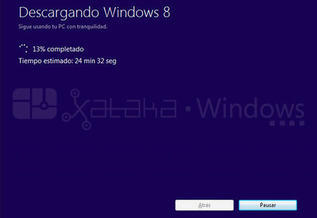 Actualización a Windows 8 Pro, descarga