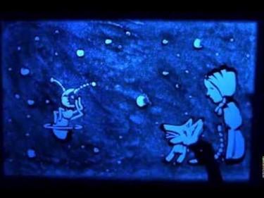 """""""La hormiga luna"""", bonita canción infantil y pintura sobre arena"""