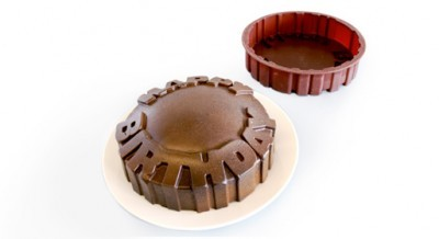 Molde de silicona para tartas de cumpleaños