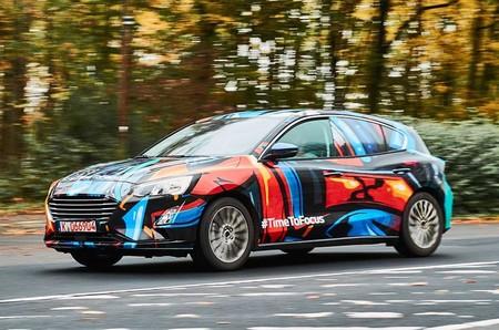 El nuevo Ford Focus deja ver lo suficiente en sus primeras fotos oficiales