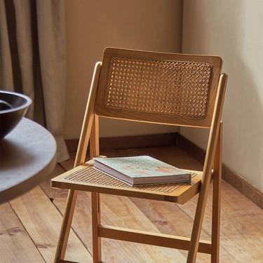 La silla perfecta para tu comedor está en Zara Home; de tendencia, con rejilla, plegable y por menos de 100 euros