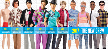 Ken, el novio de Barbie, inaugura su propia exposición en Londres