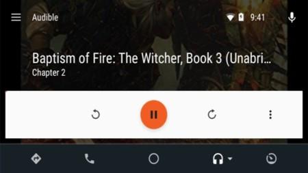 Audible se actualiza con soporte para Android Auto