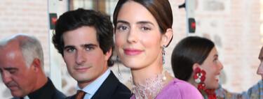 Sofía Palazuelo no acierta con su look de invitada en la boda de su hermano