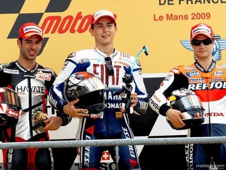 GP Francia, Podio MotoGP