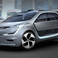 Chrysler Portal Concept, en él tu cara será parte de los controles