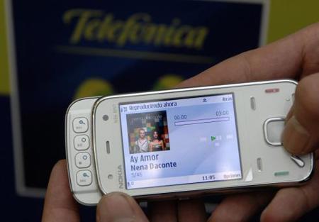 5 millones de canciones gratis con Movistar y el Nokia N86 Comes With Music