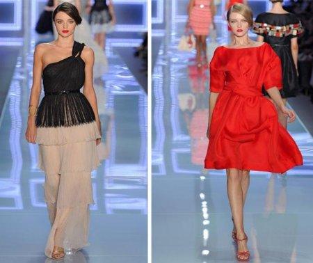 Christian Dior Primavera-Verano 2012: renovando el New Look