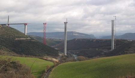 Viaducto Millau Construccion