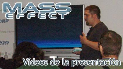 Vídeos de la presentación de 'Mass Effect'