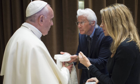 Richard Gere Papa Francisco