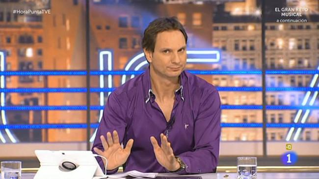 Javier Cardenas Durante Programa Este Lunes Cuando Denuncio Presunta Extorsion 1485859762515