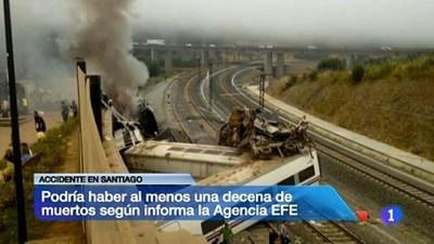Ridículo absoluto de RTVE en la cobertura del accidente ferroviario en Galicia