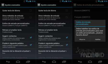 Teclado PC en Android