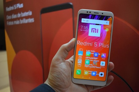 Xiaomi Redmi 5 Plus Mexico