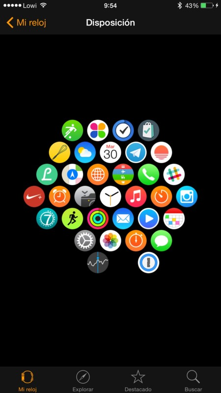 hub aplicaciones Apple Watch