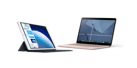Pixelbook Go de Google vs iPad Air con Smart Keyboard: guerra de ordenadores con sistemas operativos alternativos