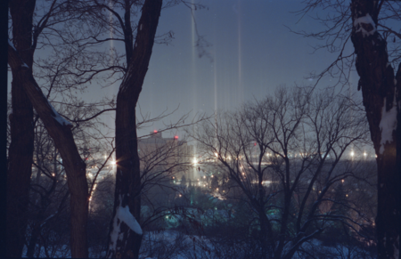 Diamond Dust Light Pillars Rochester Ny 1993 Jason Olshefsky