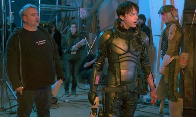 Luc Besson en el rodaje de Valerian